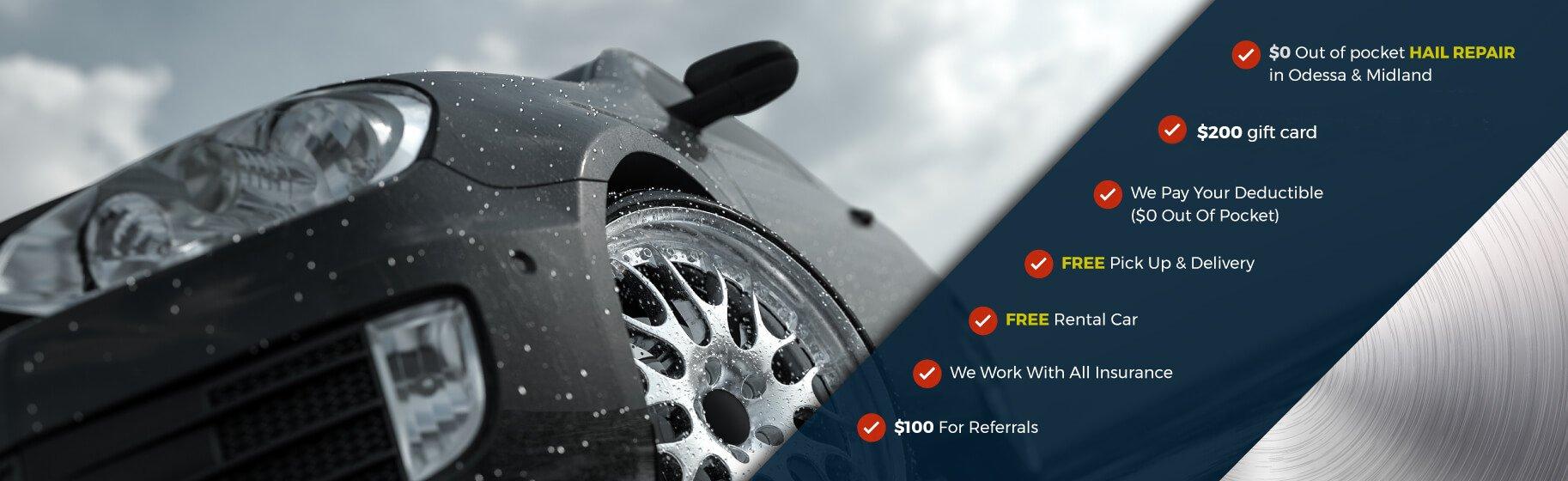 C & D Dent Guys | Car Dent Repair & Hail Damage Repair in El Paso